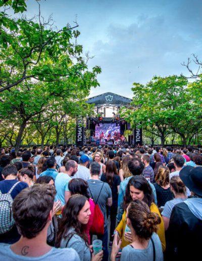 El Parque Enrique Tierno Galván, recinto de Festival Tomavistas en Madrid