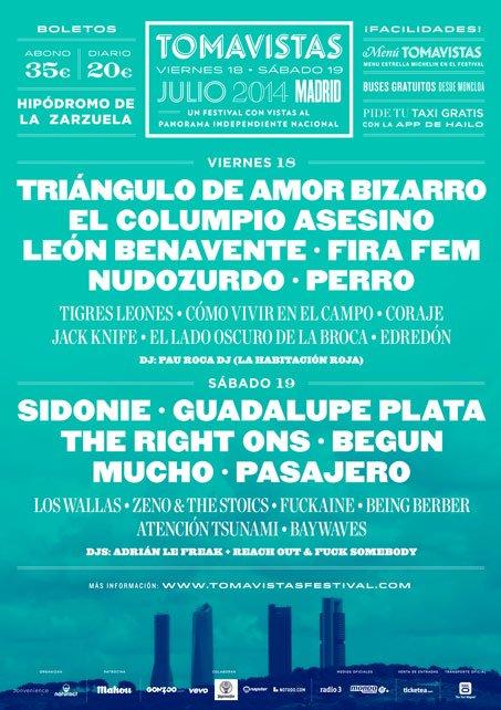 cartel Festival Tomavistas 2014