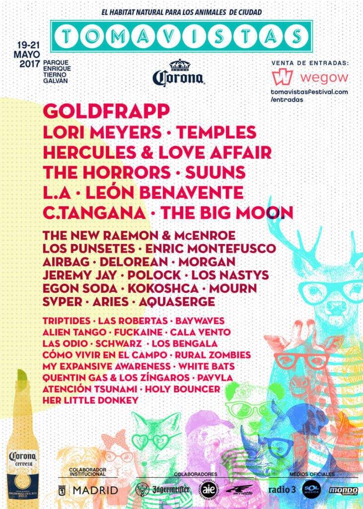 Cartel Festival Tomavistas Edición 2017