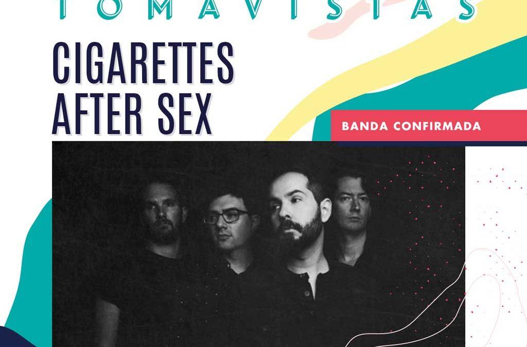 Concierto Cigarettes After Sex en Madrid, Tomavistas 2019.