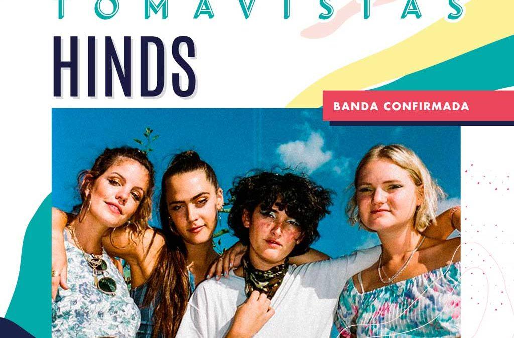 Concierto Hinds Festival Tomavistas