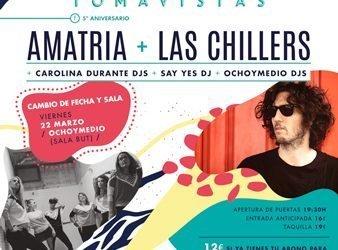 Fiesta de Presentación Amatria y Las Chillers
