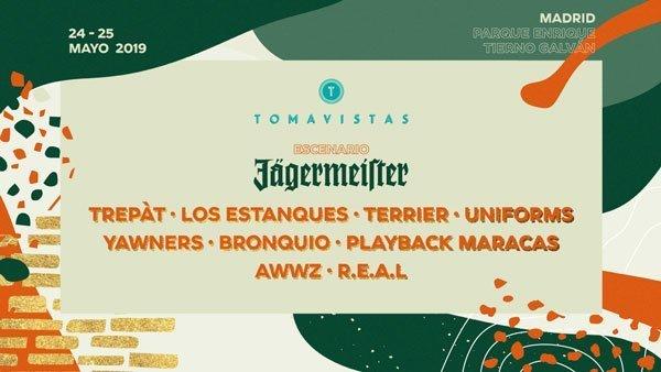 Escenario Jägermeister Tomavistas 2019