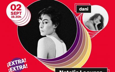 Vibra Mahou presenta Natalia Lacunza en Tomavistas Extra