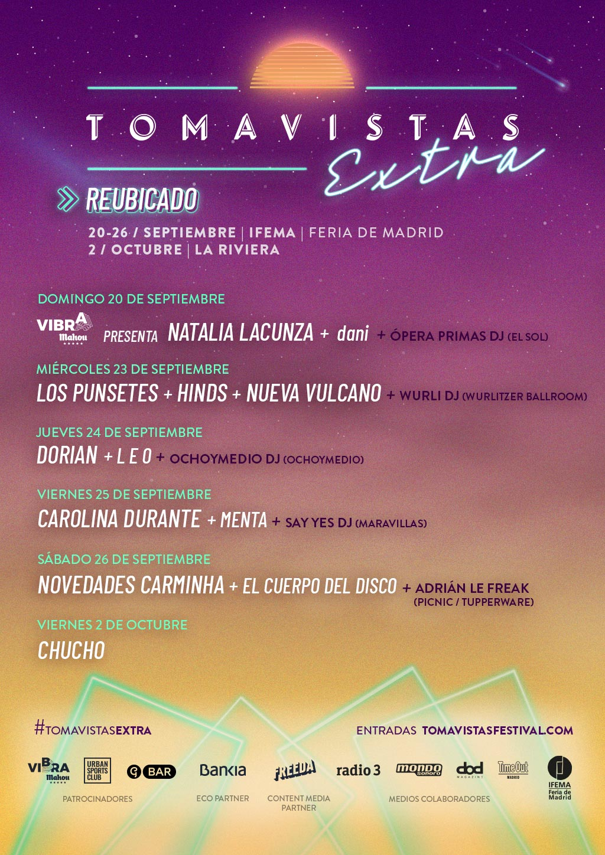 Cartel Tomavistas Extra 2020