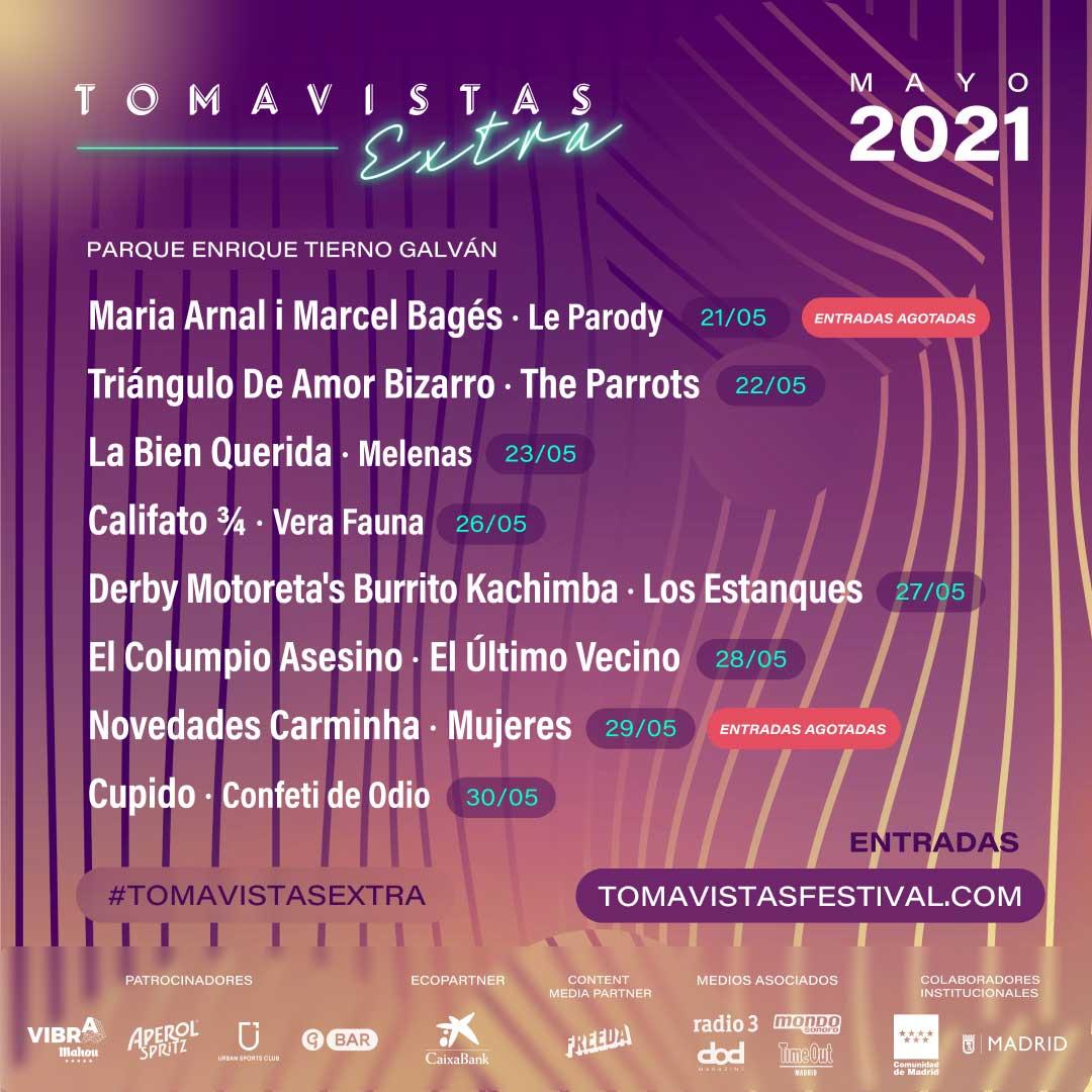 Cartel Tomavistas Extra 2021