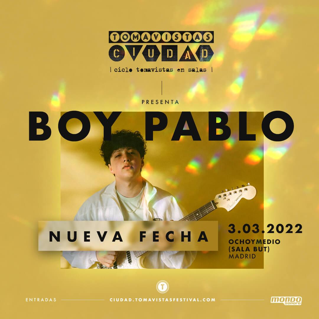Concierto Boi  Pablo Madrid