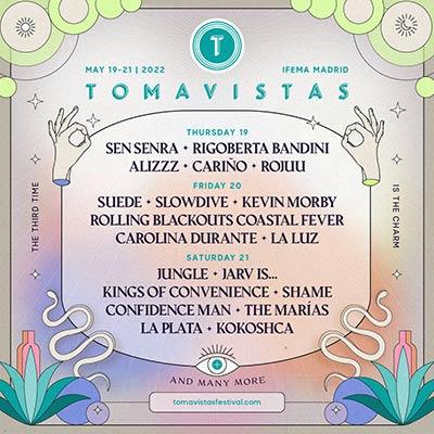 line up Tomavistas festival 2022